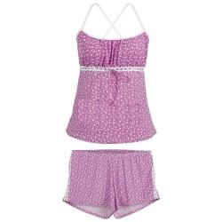 Pijama Liganete com Detalhe no Short