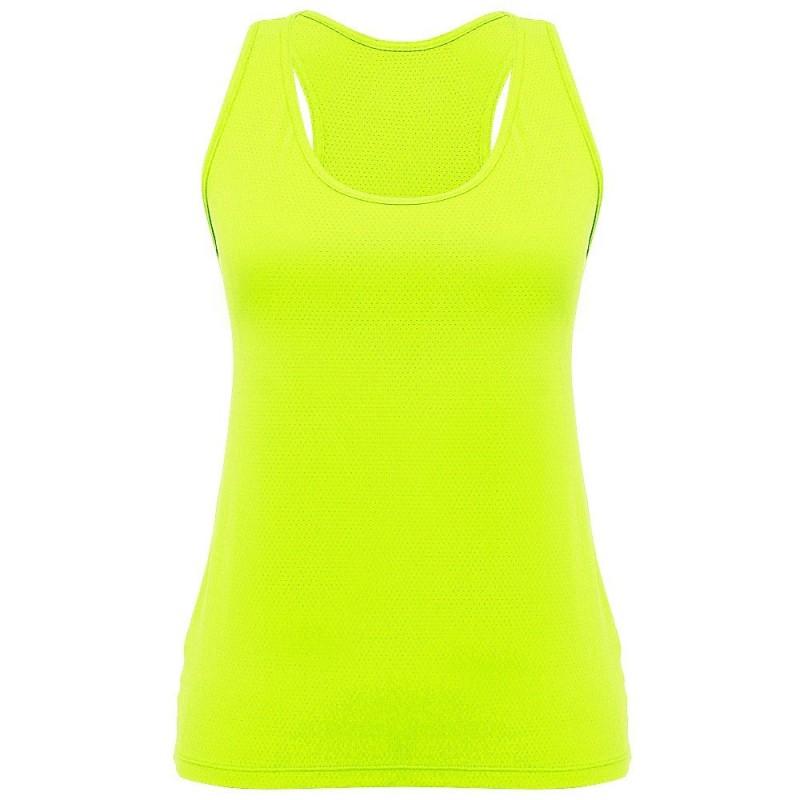 Regata amarelo neon